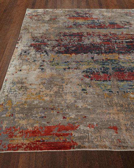 Josie Natori Titus Hand Knotted Rug, 6' x