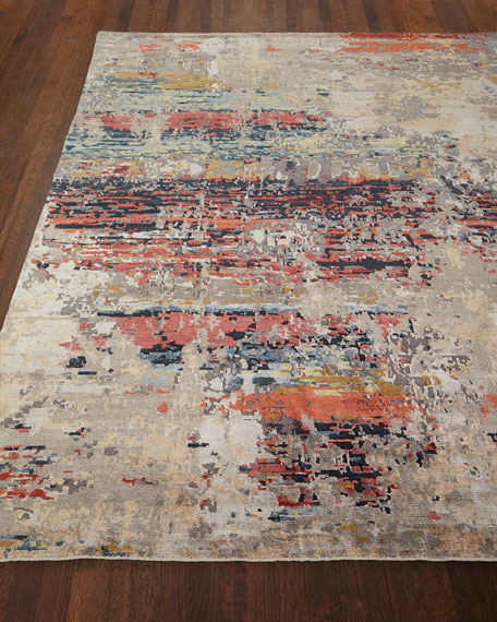 "Titus Hand Knotted Rug, 2'6"" x 10'"