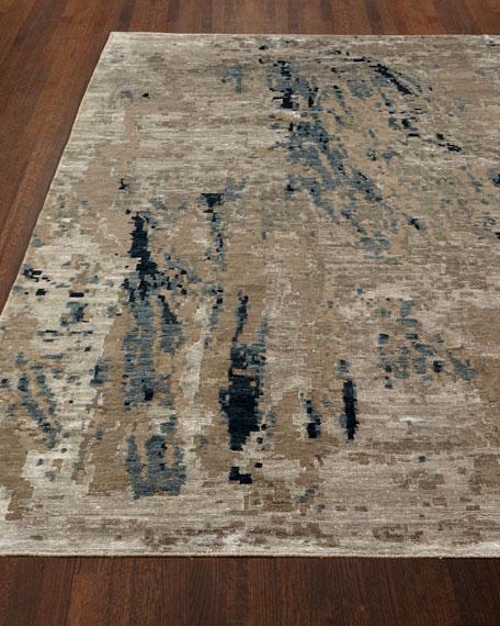 Josie Natori Lhasa Bamboo Hand-Knotted Rug, 10' x