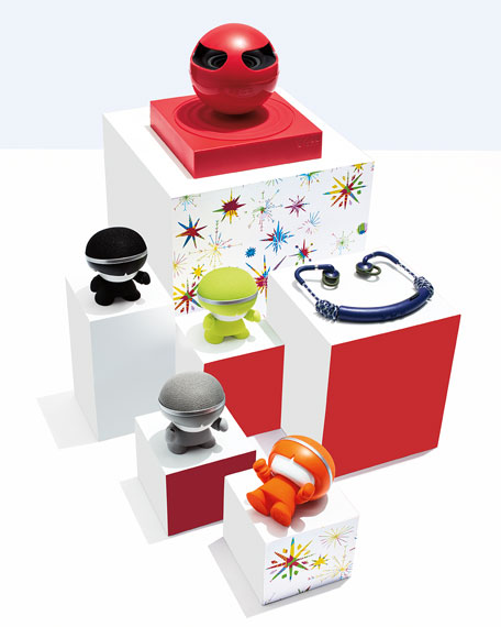 Floating Bluetooth Speaker, Red