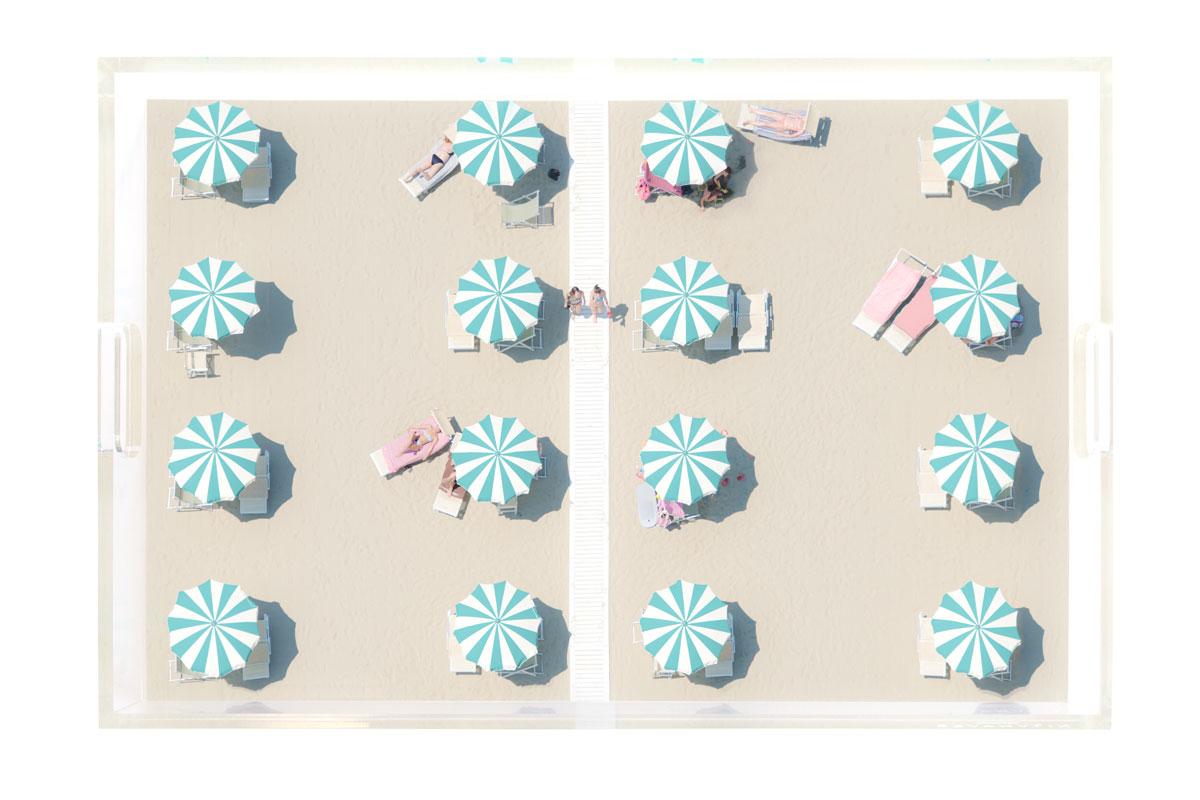 The Starmint Umbrellas Tray by Gray Malin