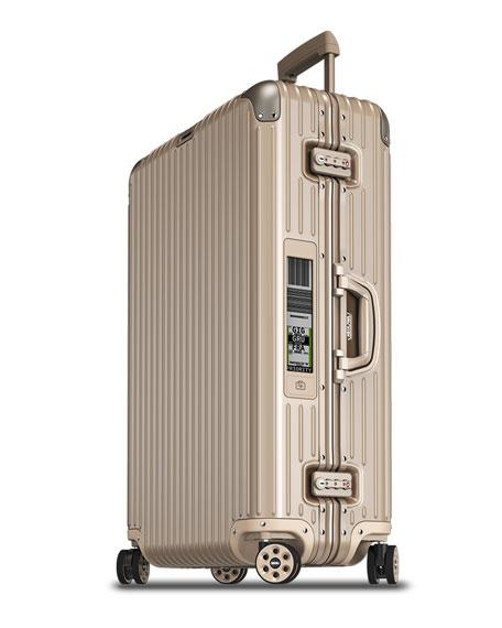 """Topas Titanium 32"""" E-Tag Multiwheel Spinner Luggage"""