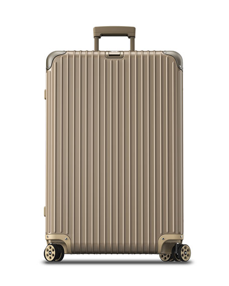 "Topas Titanium 32"" E-Tag Multiwheel Spinner Luggage"