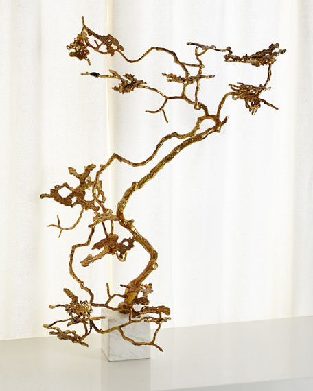Bonsai in Gold