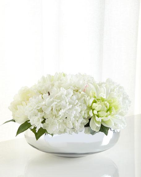 John-Richard Collection Silverpointe Floral Arrangement