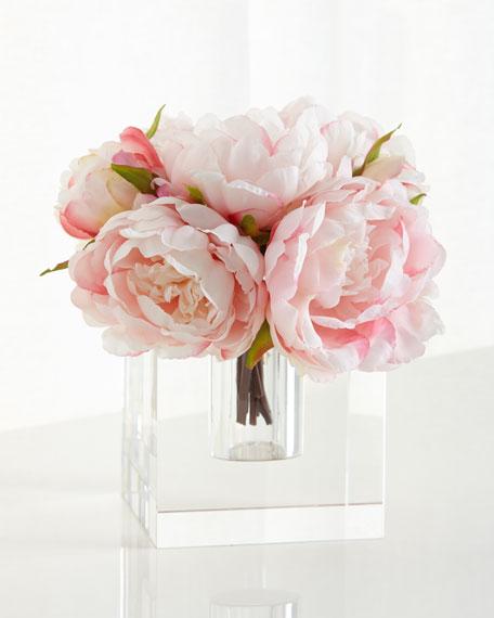 John-Richard Collection Peony Ice Floral Arrangement