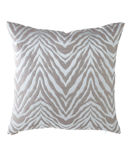 D.V. Kap Home Aroma Zebra Pattern Pillow and