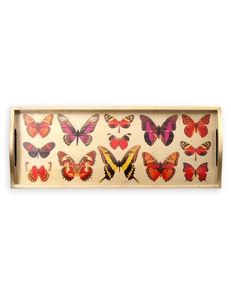 Caspari Deyrolle Butterfly Tray