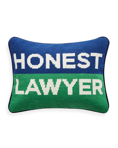 Honest Lawyer Pillow