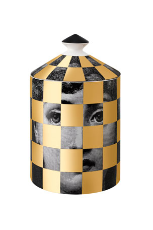 Fornasetti Scacco Scented Candle, 300 g