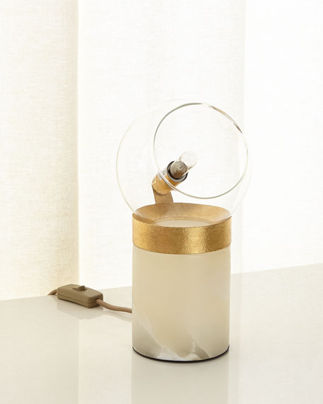 Regina Andrew Design Dollie Alabaster Table Lamp