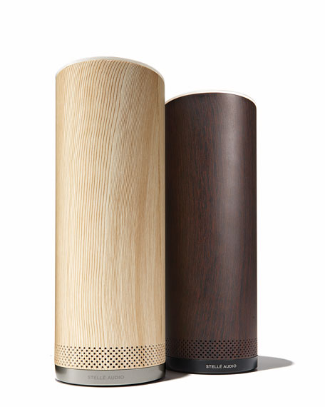 Audio Pillar Speaker with Amazon Alexa, Ash
