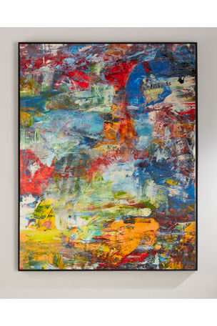 "John-Richard Collection Richard Schem's ""See the World"" Giclee on Canvas Wall Art"