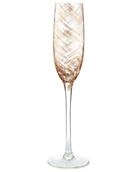 Misty Champagne Flutes, Set of 4