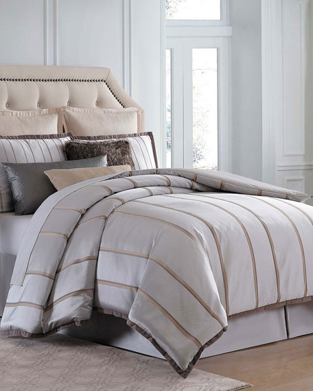 Charisma Rhythm California King Comforter Set and Matching