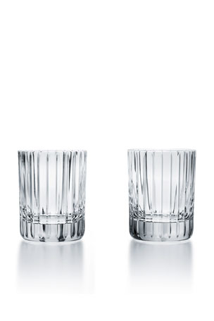 Baccarat Harmonie Crystal Triple Old Fashion Tumblers, Set of 2