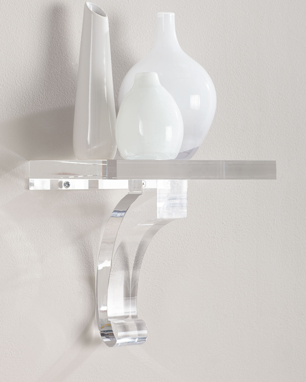 Glencoe Lucite Shelf | Neiman Marcus