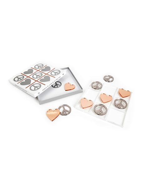 Metallic Tic-Tac-Toe Set