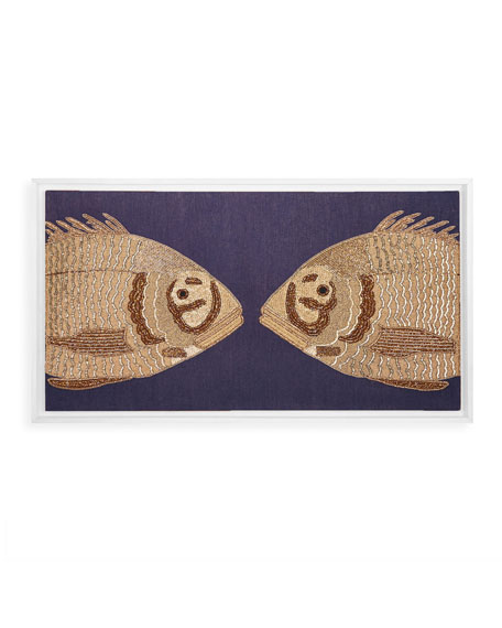 Jonathan Adler Fish Wall Art