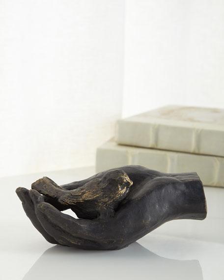 Bird In Hand Figurine