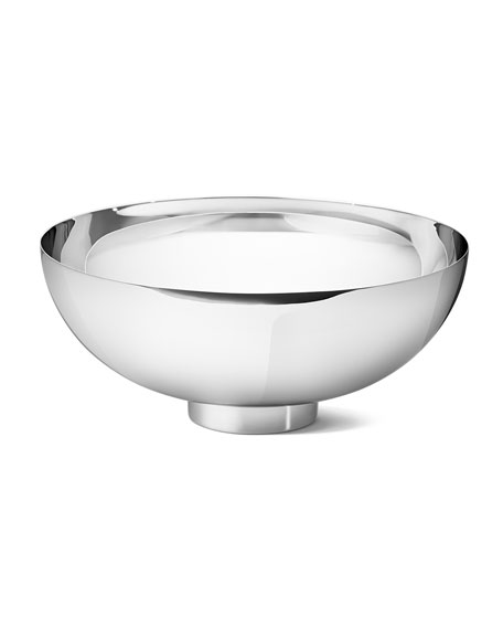 Isle Large Stainless Steel Mirror Bowl