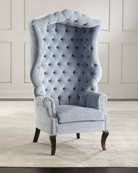 Haute House Peyton Hooded Accent Chair