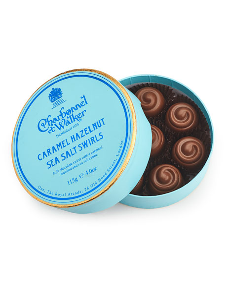 Caramel Hazelnut Sea Salt Swirls