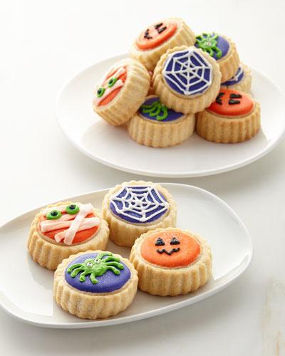 Halloween Shortbread Cookies in Gift Tin
