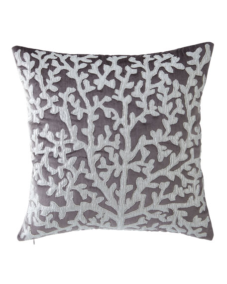 "Tree of Life Pillow, 20"" Square"