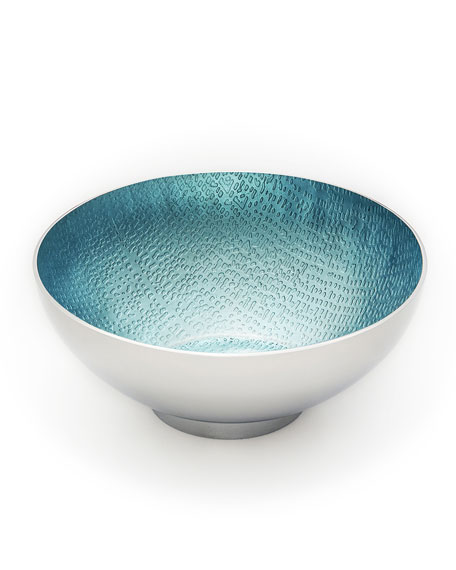 Mary Jurek Blue Pearl Round Bowl