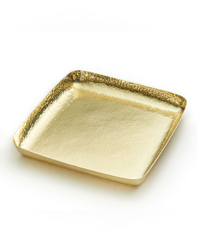 El Dorado Brass Square Tray
