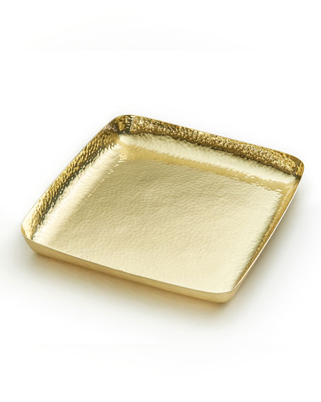 Mary Jurek El Dorado Brass Square Tray