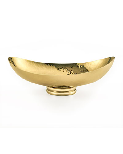 El Dorado Brass Oval Bowl