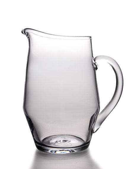 Simon Pearce Bristol Glass Bar Pitcher