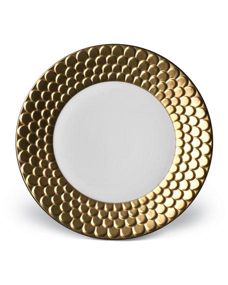 L'Objet Aegean Gold Dessert Plate
