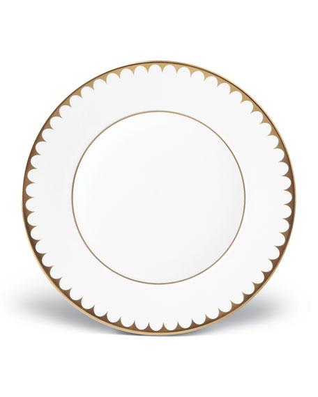 L'Objet Aegean Filet Gold Dessert Plate