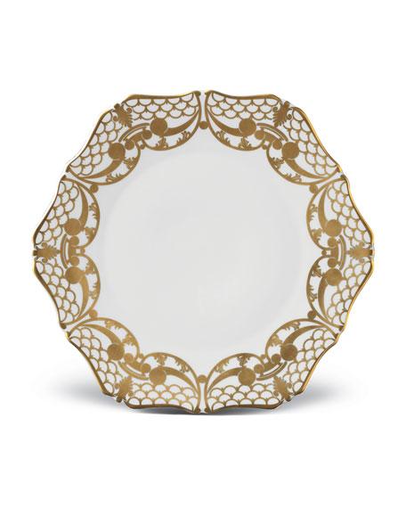 L'Objet Four Alencon Dinner Plates