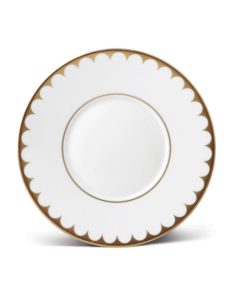 L'Objet Aegean Filet Gold Saucer