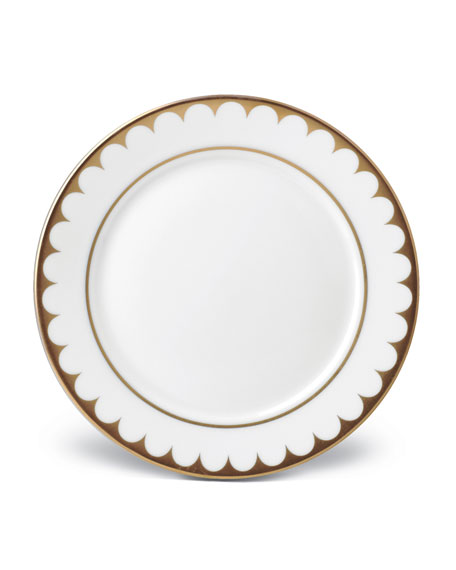 Aegean Filet Gold Bread and Butter Plate