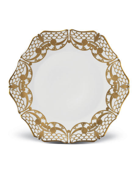 Alencon Gold Bread and Butter Plate