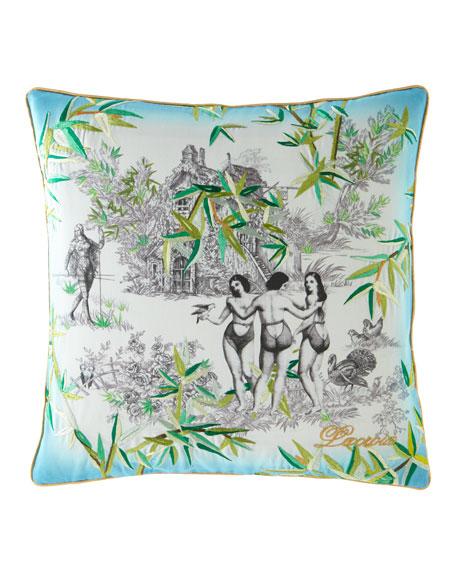 Exotisme Opale Pillow
