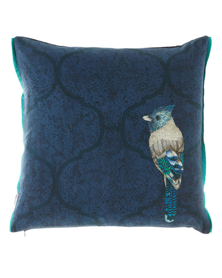 Quill Cobalt Cushion Pillow
