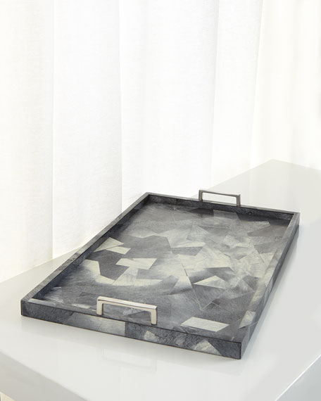 Myka Resin Decorative Tray