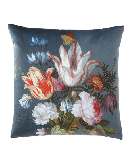 Striated Tulip Pillow