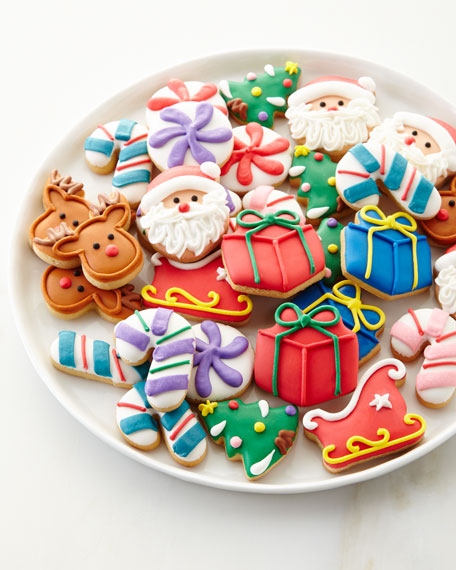 30-Piece Christmas Petite Cookie Set