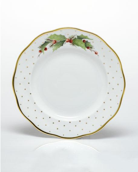 Winter Shimmer Dessert Plate