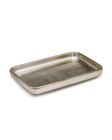 Labrazel Ava Amenity Tray, Silver and Matching Items