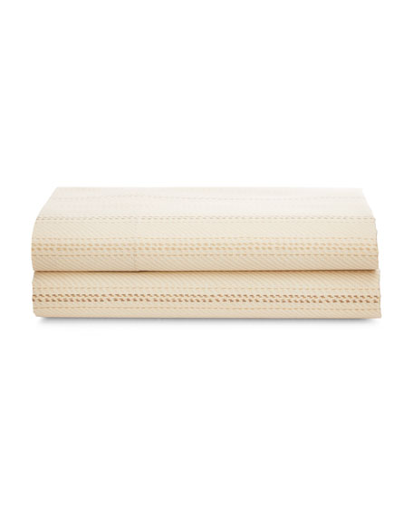 Ralph Lauren Home Meade Queen 300TC Flat Sheet