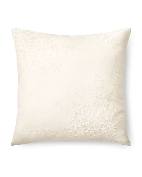 "Jenney Decorative Pillow, 18""Sq."