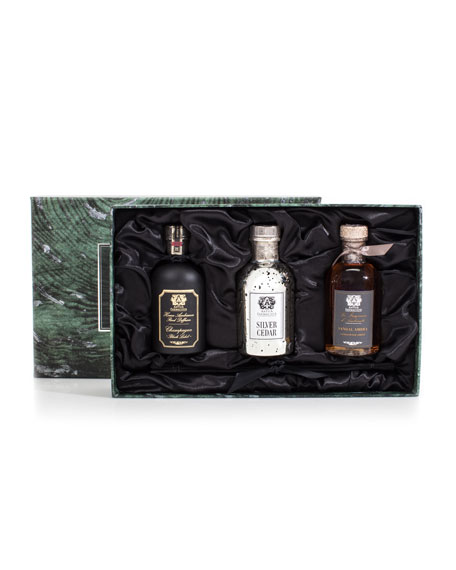 Antica Farmacista Trio (Silver Cedar, Champagne, and Sandalwood